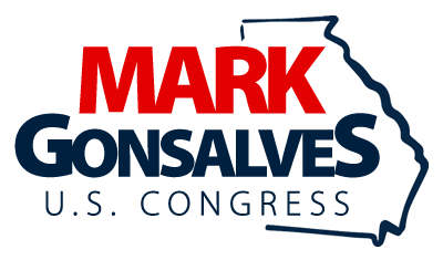 Mark Gonsalves for Congress Republican in Georgia's 7th District Gwinnett & Forsyth Counties